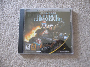Star Wars-Republic Commando PC DVD Rom game-excellent