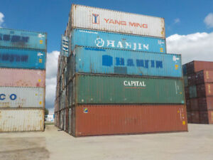 40' Standard Shipping Container Used