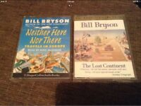 AudioBooks x2 Bill Bryson £4 EACH