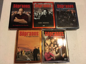 Seasons 1-5 Sopranos