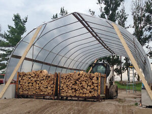 Firewood 1.5 face cord, free delivery Wingham, Walton, Clinton
