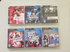 PLAYSTATION 3 + 2 Controllers + Dance/Sing