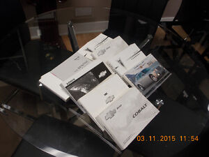 HUGE VARIETY OWNERS MANUALS(SIRIUS AND ONSTAR TOO)