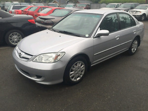 Selling my 2004 Honda civic as I have no use for it anymore