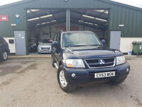 2004 Mitsubishi Shogun 3.2DI-D Field LWB MANUAL DIESEL 7 SEATS