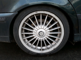 "BMW 18"" ALPINA STYLE ALLOYS E39 / E46 / E36 / 1 SERIES / COMPACT etc for sale  Leeds, West Yorkshire"