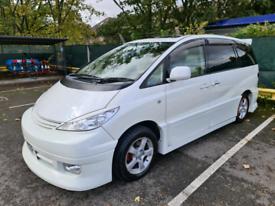 Toyota Estima Previa Leather Seats 4WD Body Kit 7 Seater 87K Miles