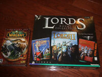 World Warcraft and Lords Royal Collection computer games