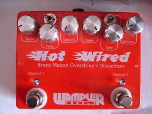 Wampler Brent Mason Hot Wired Overdrive and Distortion Pedal