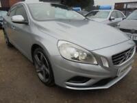 2012 62 VOLVO S60 2.4 D5 R-DESIGN LUX NAV 4DR 212 BHP FINANCE WITH NO DEPOSIT AN