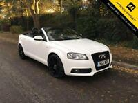 2011 AUDI A3 1.2 TFSI CONVERTIBLE S-LINE 105 BHP (BLACK STYLING PACK)