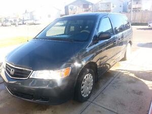 2003 Honda Odyssey Minivan, Van great for family