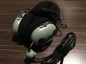 Casque d'écoute David Clark H10-13.4 aviation headset