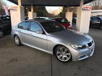 2007 BMW 3 Series 2.0 320d M Sport 4dr SALOON in SILVER