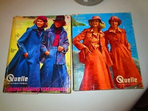 Two Germany 1975 department store catalogs