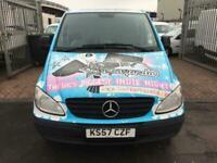 2008 Mercedes-Benz Vito 109CDI Van CREW VAN 6 SEATER EX LOCAL COMPANY VAN NO VAT