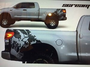 Toyota Tundra fender bed Graphic vinyl decal