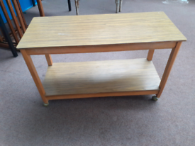 Vintage retro side table/trolley