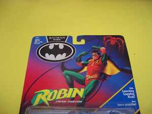 BATMAN RETURNS ROBIN JET FOIL CYCLE, ROBIN AND 2 LOOSE FIGURES London Ontario image 5
