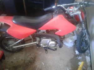 Dirt bike  reduced to first 350