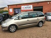 2005 Ford Galaxy 2.3 auto Zetec 7 seat MPV, **ANY PX WELCOME**