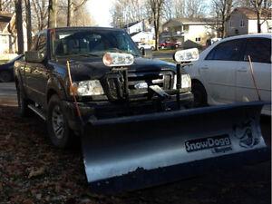 2010 Ford Ranger Sport 4x4 Pickup Truck snow plow