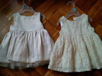 FRIDAY ONLY 3-6 months girls dresses