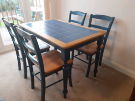 Dining Table and Chairs. BARGAIN!