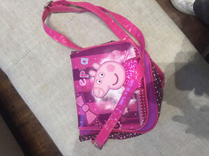 Peppa pig purse from Italy, never used
