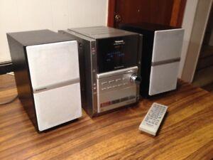 Panasonic SA-PM18 120 Watts Compact Sound System