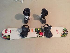 Ride Snowboard Avec Nitro Fix Et Nitro Bottes Et Lunettes Oakley