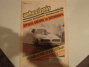 Collection of 6 Vintage WHEELSPIN NEWS Canada's Motorsport News Sarnia Sarnia Area image 5