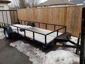 16feet long 5feet wide utility trailer for sale