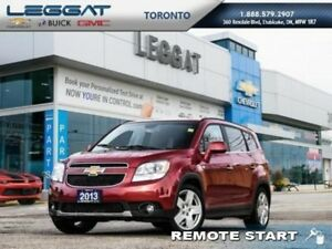 2013 Chevrolet Orlando LTZ  - Bluetooth -  Heated Seats