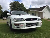 1997 SUBARU IMPREZA WRX STI TURBO JDM IMPORT VERSION 4 87K MILES