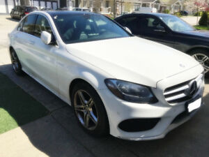 Lease taker 2015 mercedes-benz C300 4MATIC Sedan for 8 months!