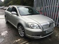 Toyota Avensis 2.0 D-4D T4 DIESEL 1 PREVIOUS OWNER, JUNE 2018 MOT