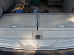 Chevy uplander storage container