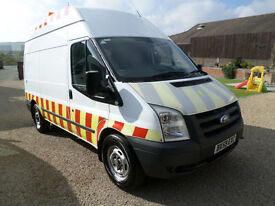2010 Ford Transit 2.4TDCi T350 MWB, Compressor Van, Workshop Van, Euro 4