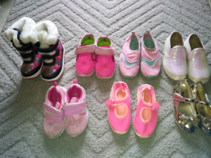 Toddler girl shoes sizes 7-10