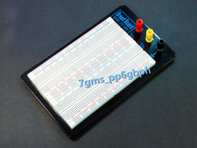 1pcs Zy-204 Solderless Breadboard Protoboard 1660 Positions Large With Banana