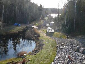 Bord de l'eau au Lac Kénogami chemin des polices Saguenay Saguenay-Lac-Saint-Jean image 9