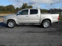 2012 62 TOYOTA HI-LUX DOUBLE CAB INVINCIBLE 3.0 D-4D 4WD 171PS DIESEL