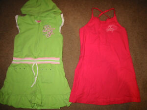 Girl size 5 Dresses and Shirts
