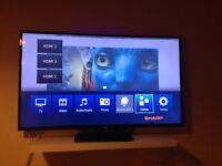 """Sharp 60"""" LED 3D Smart TV"""