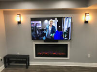 TV WALL MOUNT, PROJECTOR,SECURITY CAMERA INSTALLATION