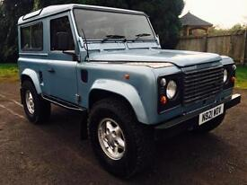 1995 Land Rover Defender 90 300Tdi County Station Wagon, Galvanised Chassis