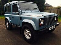 1995 Land Rover Defender 90 300Tdi County Station Wagon, Galv Chassis