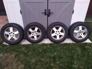 Summer Tires 205 65 R16 and rims