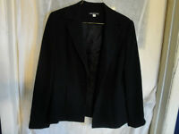 Ladies Classic Black Suit